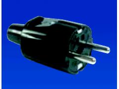 Clavija bipolar de goma acrilica 16A - 250V